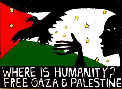 free gaza art festival logo greer_valley