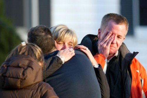 Sandy Hook family mourns