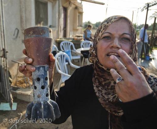 Woman shell GazaSM