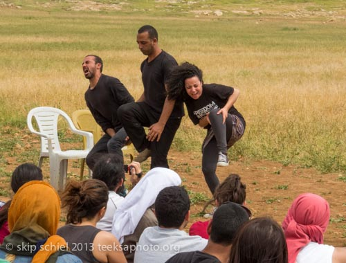 The highly esteemed Jenin Freedom Theater performs