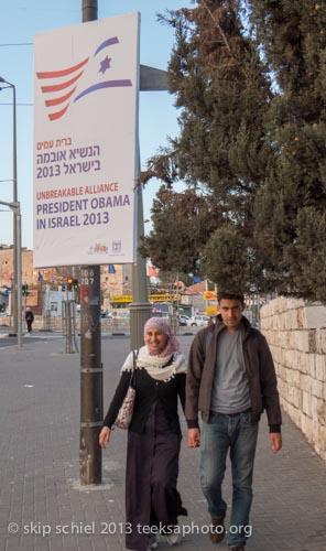 Marking Pres. Obama's visit to Jerusalem