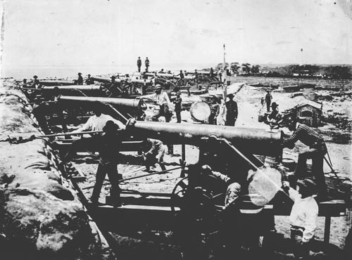 Civil WarConfederate Water Battery (Columbiad Guns) - Warrington, FL at the Entrance to Pensacola Bay - February 1861