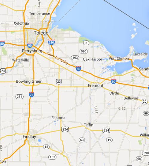 Toledo Ohio area