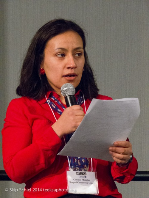 Panel moderator, City Council Member Raquel Castaneda-Lopez