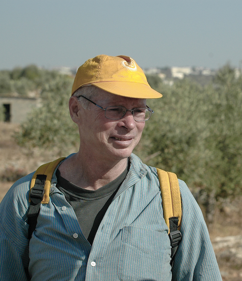 Rick Colbeth-Hess and David Nir, the latter a justice advocate from Tel Aviv