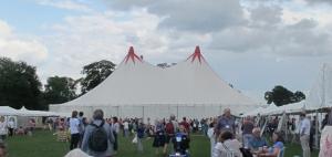 2014-08-04BathYMGBigTop-The Big Top at Yearly Meeting Gathering in Bath. | Photo- Photo- Trish Carn.