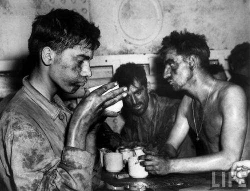 Coffee for Eniwetok Marine Survivors