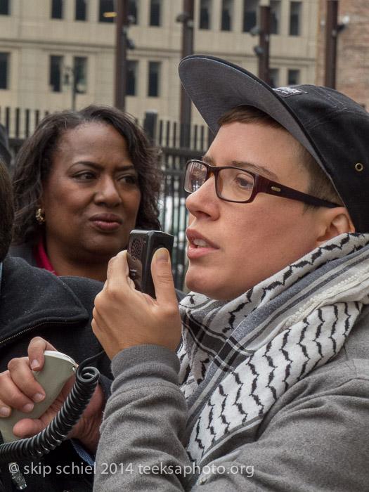 Inviinciple Ill Weaver, Detroit activist with the Boggs Center