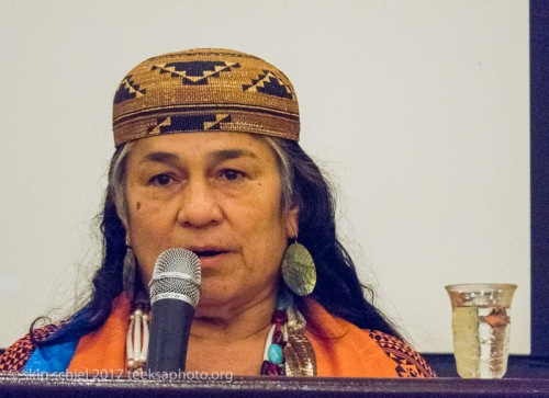 Chief Caleen Sisk, spiritual leader of the Winnemem Wintu Tribe, California