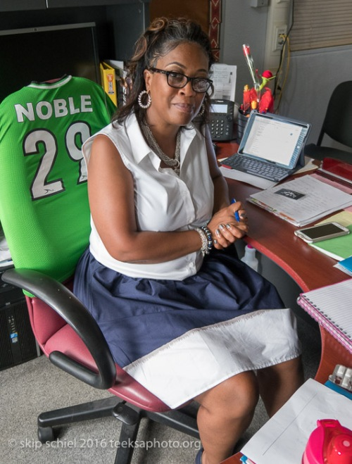 Latoyia Webb Harris, Noble School Principal