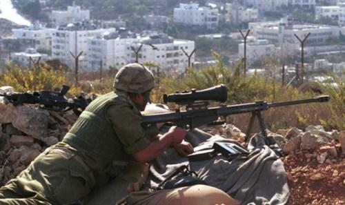 Israeli sniper