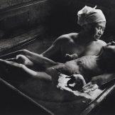 Tomoko Uemura in her bath, Minamata, W. Eugene Smith