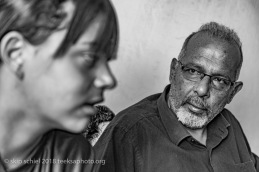 Rowaida Al Azzeh (L) & her father, Ayed