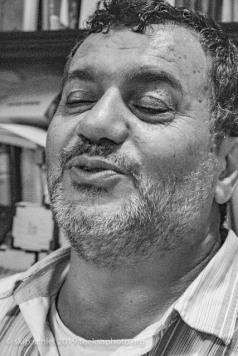 Abedfattah Abusrour, founder and director of Al Rowwad Cultural Center, Aida Camp, Beit Natif Village