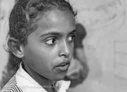 Resident of Khan al-Ahmar Bedouin community