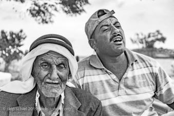 Khalil Al Rashayda and son-Rashayda Bedouin Community-Ein Geti