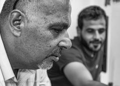 Ayed Al Azza with Ahmed