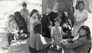 Refugees escorted from Ramla during Operation Danny