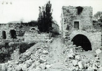 Deir Yassin after destruction by the Israeli military in 1948