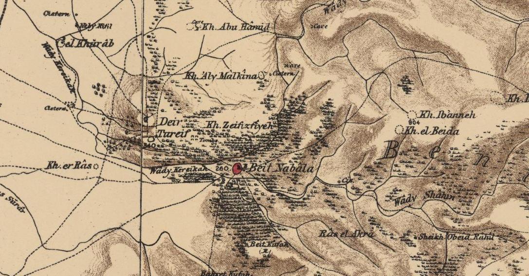 PEF_map_-_BEIT_NABALA