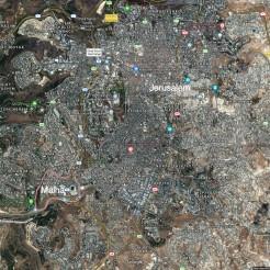 Mahla-Jerusalem topo