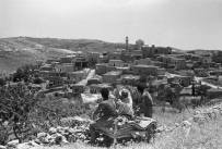 al-Maliha (Malha) in the last 1940's or early 1950's from the north looking southwards
